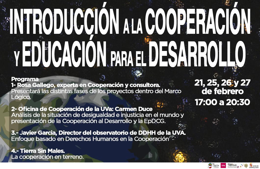 Tierra Sin Males: Curso Introducción a la Cooperación y Educación para el Desarrollo