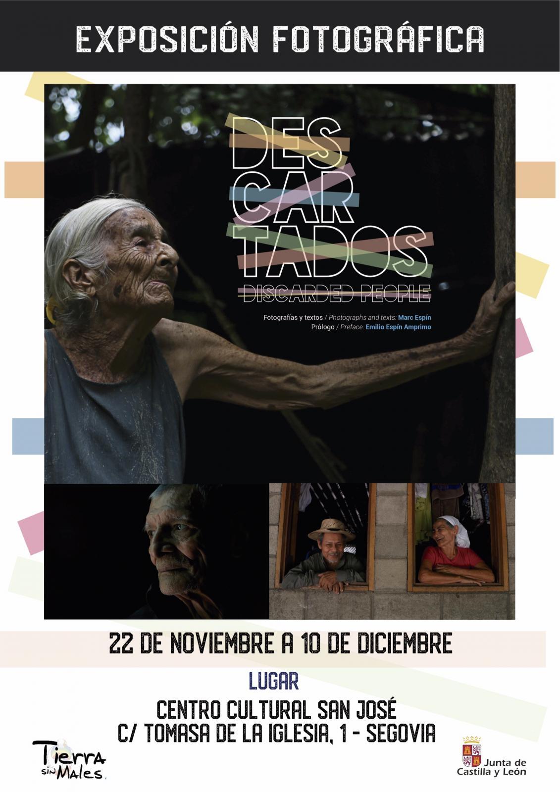 La exposición fotográfica DESCARTADOS, en Segovia