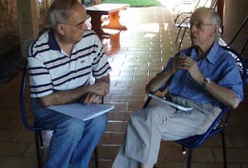Tierra Sin Males: Eduardo Lallana visita a Pedro Casaldáliga