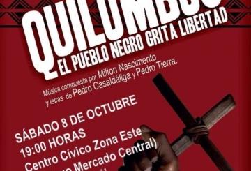 Tierra Sin Males: EL MUSICAL QUILOMBOS EN VALLADOLID el Sábado 8 de octubre